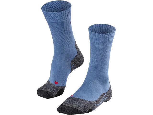 Falke TK2 Trekking Sokken Heren, iron blue